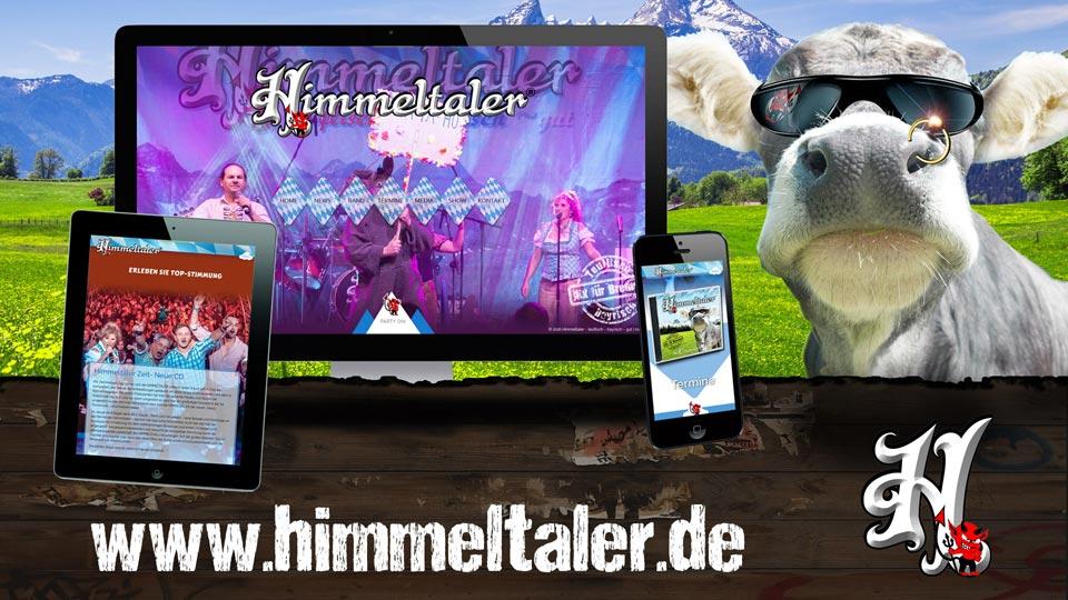 Neue Homepage der Himmeltaler Oktoberfestband